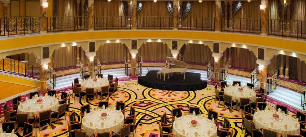 Зал Al Falak - место проведения мероприятий
