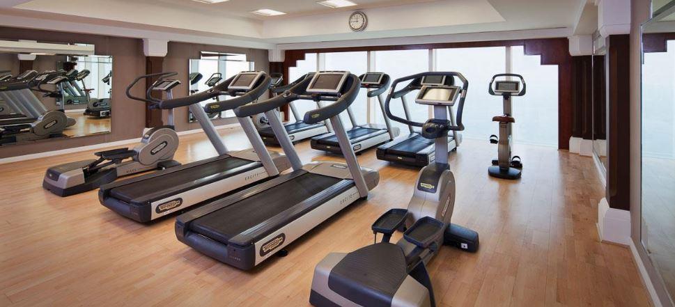 Фитнес-центр в Бурдж-аль-Араб