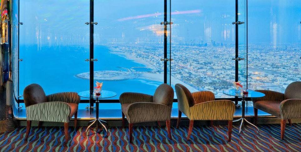 Skyview Bar в Бурдж-аль-Араб