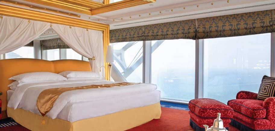 Панорамный люкс с одной спальней