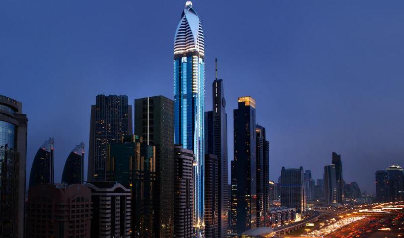 Башня Розы - самый высокий отель в мире