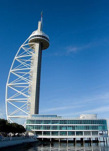 Башня Васко да Гама в Лиссабоне